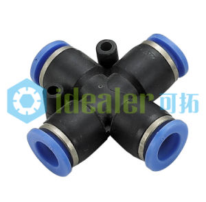 High Quality Pneumatic Pipe Fitting with CE (PZA12) pictures & photos