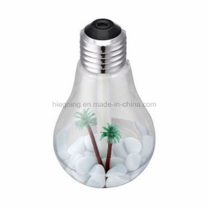 Colorful Light Bulb Humidifier 400ml Capacity Ultrasonic Humidifier pictures & photos
