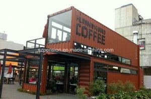 High Quality Quick Installation Modern Conenvient Mobile Prefabricated Coffee House pictures & photos