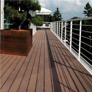 Low Cost Eco-Friendly WPC Water Proof and Anti-UV Board Deck pictures & photos