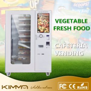 Touch Screen Refreshment Dessert Vending Machine with Coin Changer pictures & photos