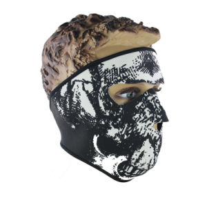 Full Face Fashionable Veil Keep Warm Racing Mask (AM042) pictures & photos