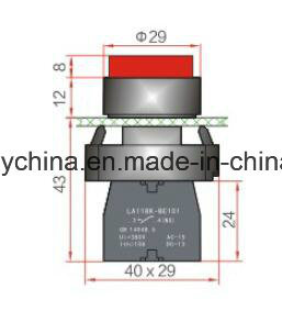 La118kb Series 6-380V Metal Type Pushbutton Switch pictures & photos