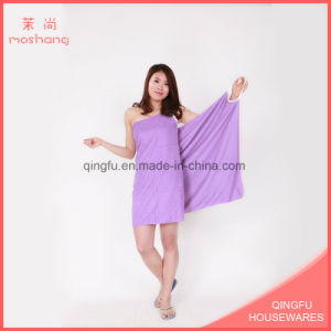 Wholesale Multifunction Microfiber Wearable Bath/Beach Towel pictures & photos