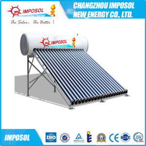 Compact Pressure Heat Pipe Tubular Solar Heater pictures & photos