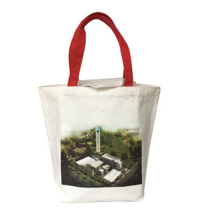 Customized Promotional Long Handle Cotton Shopping Bag pictures & photos