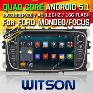 Witson Android 5.1 Car DVD for Ford S-Max (2008-2011) (W2-F9457FB) pictures & photos