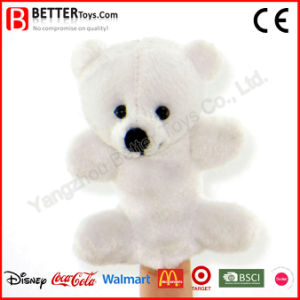 Stuffed Animal Soft Toy Bear Finger/Hand Puppet for Children/Kids pictures & photos