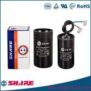 Motor Starting Capacitor CD60 200V 250V 450V 200UF pictures & photos