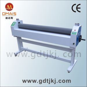 DMS Manual Cold Film Laminator Roll to Roll Coating Machine pictures & photos