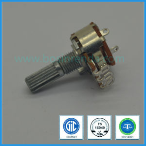 16mm Rotary Potentiometer with Switch for Mixer Amplifier pictures & photos