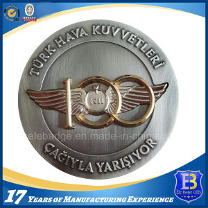 Custom 3D Metal Coin with Transparent Enamel (Ele-C033) pictures & photos