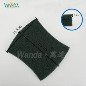 Abrsive Nylon Dish Washing Cleaning Scrub Pad Scouring Pad pictures & photos