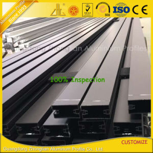OEM Powder Coated Anodized Aluminium Extrusion for Glass Wall pictures & photos