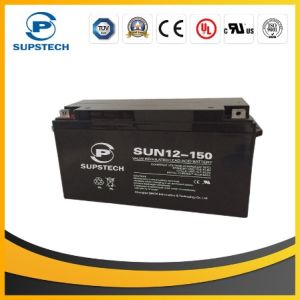12V 150ah Deep Cycle Solar Battery pictures & photos