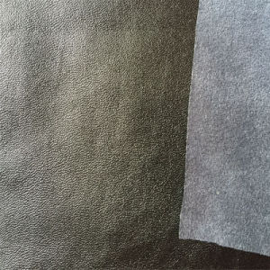 Synthetic PU Leather for Clothes Garment Hw-1641 pictures & photos