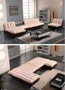 Fabric Sofa Set for Home Furniture pictures & photos