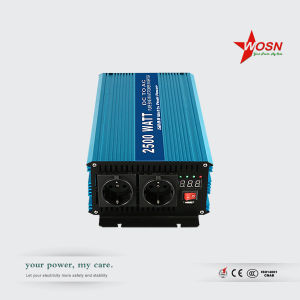 Pure Sine Wave Solar Power Inverter 2500W 12V/24V/48V pictures & photos