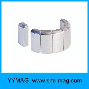 Arc Segment Shape Neodymium Permanent Motor Magnet with Nickel Plating pictures & photos