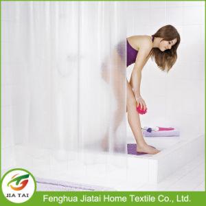 Cheap Custom Modern PEVA Clear Bathroom Shower Curtain for Home