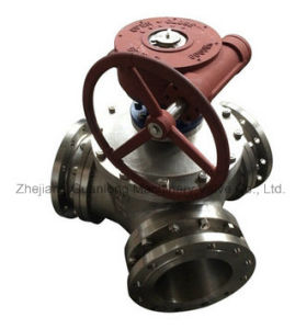 Trunnion Mounted Top Entry Ball Valve (Q347) 3 Way 2 Way pictures & photos