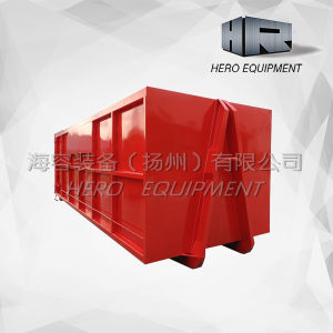 Lift Truck Garbage Waste Containers Hooklift Containers pictures & photos