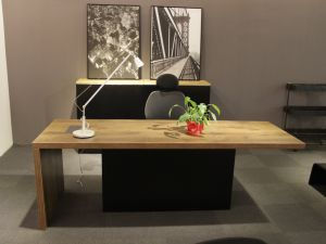 Modern Executive Office Table with Melamine