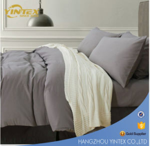 China Wholesale 100% Polyester Hotel Bedding Set with Super Quality and Competitive Price pictures & photos