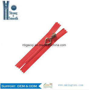 Quality Guarantee Wholesale Open-End/Close-End/Double Resin Zipper pictures & photos
