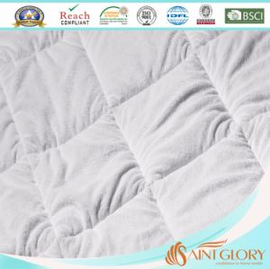 Twin Size Polyester Mattress Cover with 45cm Deep Pocket pictures & photos