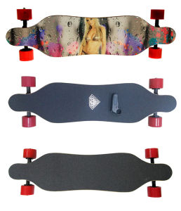 70mm Dual Hub Motor Electric Skateboard with LG Battery pictures & photos