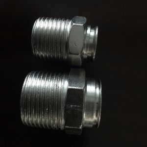 Stainless Steel 201 Gas Hose Nipple Fitting Manufacturer pictures & photos