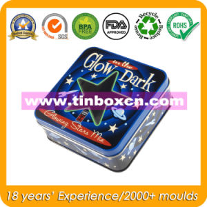 Square Tin Box for Movie, Gift Metal Tin Container pictures & photos