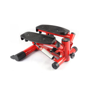 Steel Frame Mini Fitness Hydraulic Stepper with Resistance Bands pictures & photos