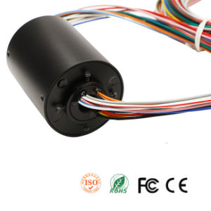 Through Hole Slip Ring with UL Wires 600V/20A for Package Machines pictures & photos