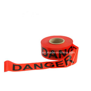 Non Glue Warning Tape with PE Backing Offer Logo Print pictures & photos