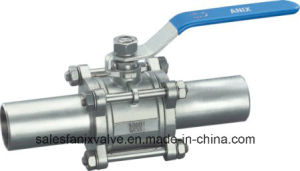 3PC Type Welded Ball Valve. 4 pictures & photos