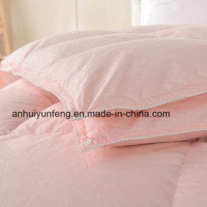 Cheap Price High Quality Wholesale Bed 4-6cm Feather Quilt pictures & photos
