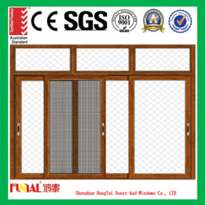 Heat Insulation Aluminum Sliding Glass Window pictures & photos