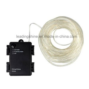 Dimmable Rope Lights Battery Powered 8 Modes with Timer Waterproof String Lights for Christmas Thanksgiving Outdoor Decoration pictures & photos
