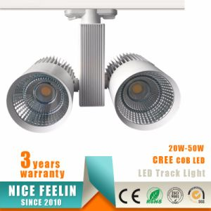 CREE/Epistar 2-Wire/3-Wire/4-Wire COB LED 50W High Quality Track Light pictures & photos