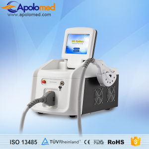 Safe High Quality Portable IPL Shr&E-Light Laser Hair Removal Machine pictures & photos