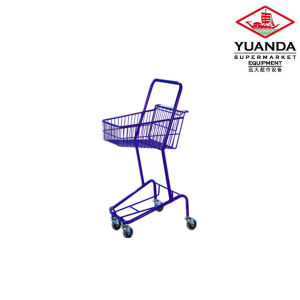 Wire Basket Shopping Trolley for Sale pictures & photos