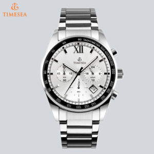 Multifunction Swiss Movement Sport Men Wrist Watches Stainless Steel Analog Watch 72795 pictures & photos