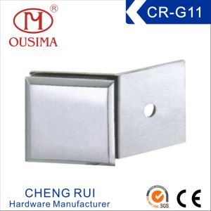 Zinc Alloy Single Side 180 Degree Glass Partition Clip Used in Shower Room (CR-G11) pictures & photos