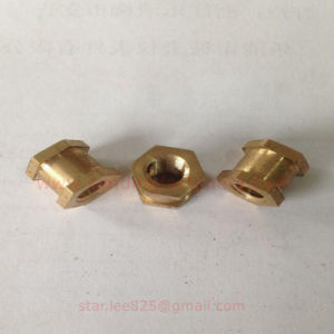 Hexagonal Copper Nut Double Chamfer pictures & photos
