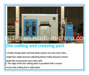 High Quality Flatbed Automatic Die Cutter pictures & photos