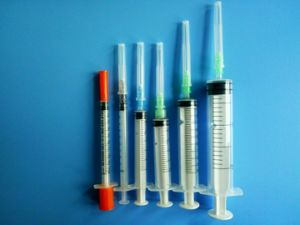 Disposable Syringes with Needle All Sizes
