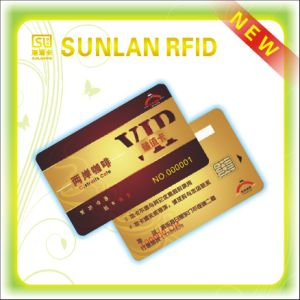 2015 Item of Printed PVC Contact Smart Card with Signature Panel pictures & photos