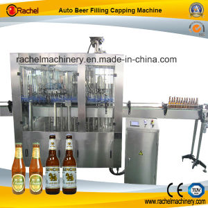 Automatic Small Beer Filling Capping Machinery pictures & photos